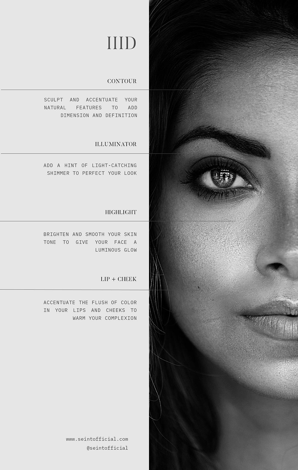 Seint Makeup; Seint IID Foundation; Maskcara Beauty