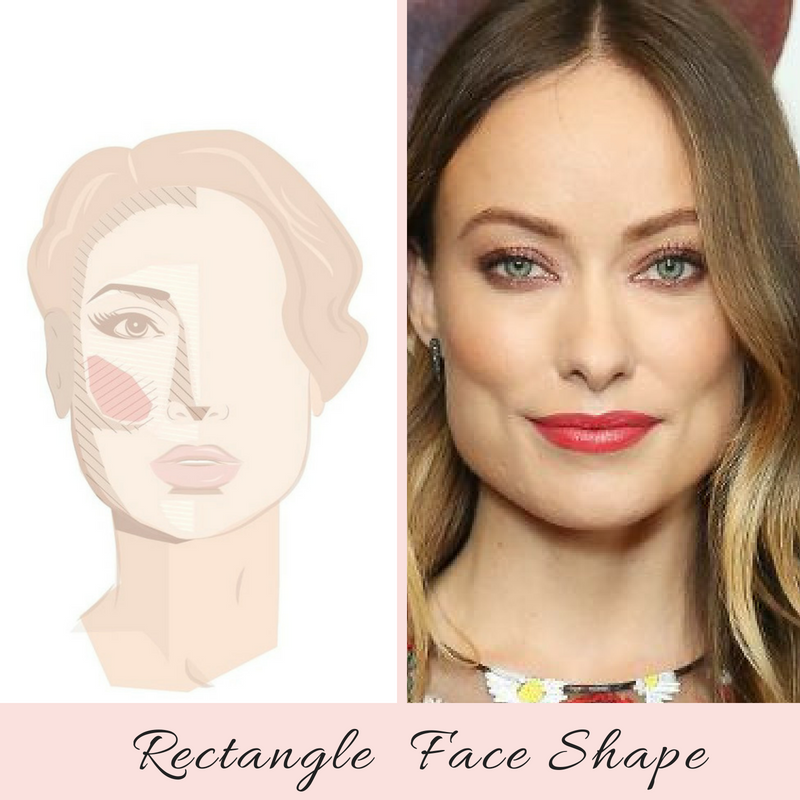 How to Highlight and Contour a Rectangle Face Shape