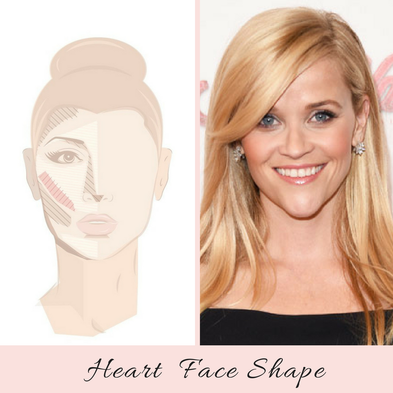 How To Highlight and Contour a Heart Face Shape