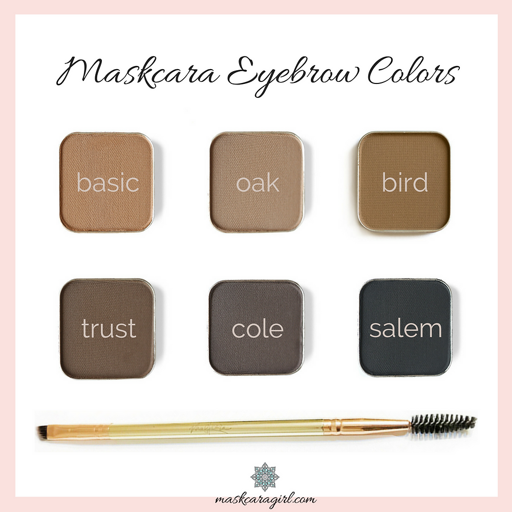 Maskcara Eyebrow Color Options