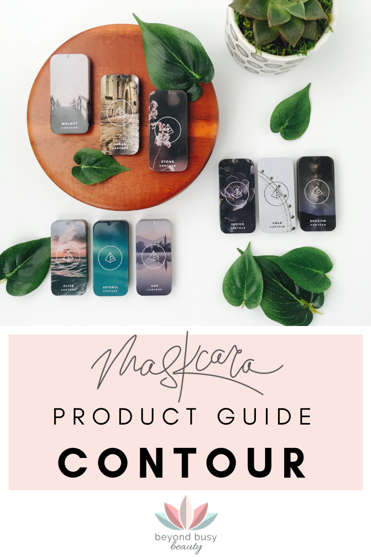 Maskcara Product Guide: Contours