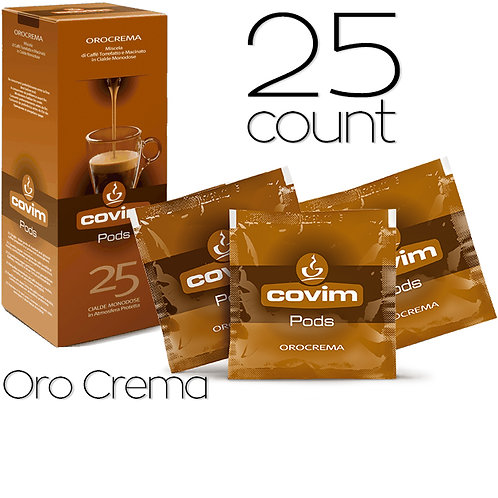 caffeCOVIM - OroCrema Dispenser Box (25 count)