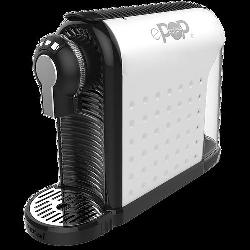 ePOP® WHITE  -  Coffee and Espresso Pod Machine