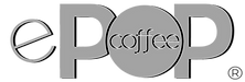 ePOP coffee and espresso machine logo