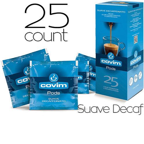 caffeCOVIM - SuaveDecaf Dispenser Box (25 count)