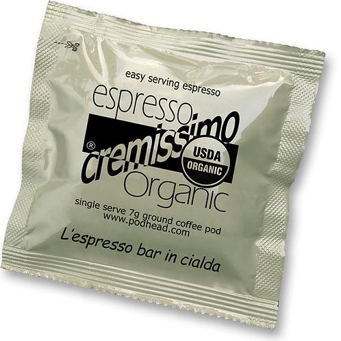 CREMISSIMO Organic 100% Arabica