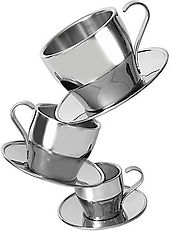 Stainless Steal Thermal Double wall coffee espresso cups