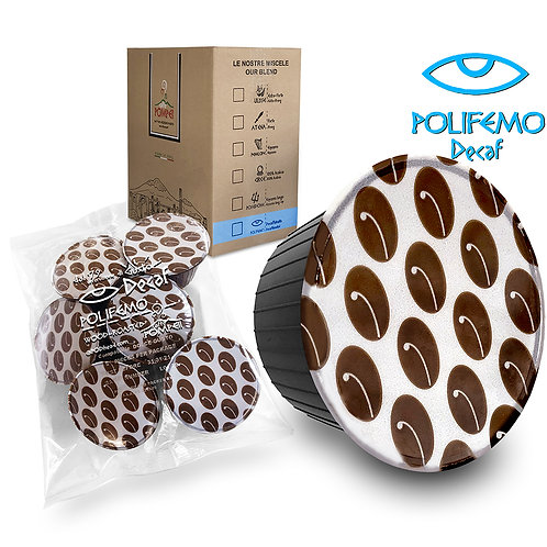 POLIFEMO Decaf Capsules for All Nescafe Dolce Gusto Brewer Machines