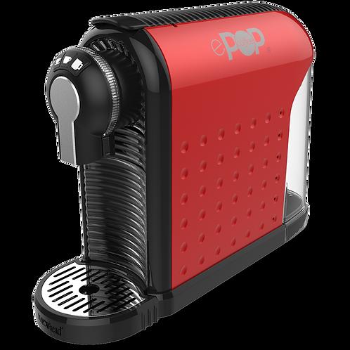 ePOP® RED  -  Coffee and Espresso Pod Machine