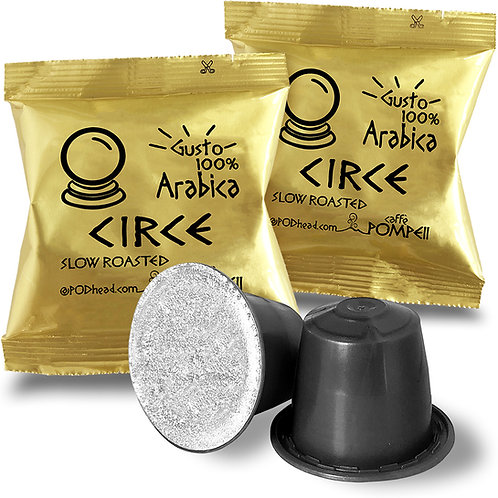 CIRCE 100% Arabica Capsules for All Nespresso OriginalLine Machines
