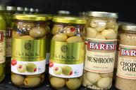 Jarred Olives & Marinated Mushrooms