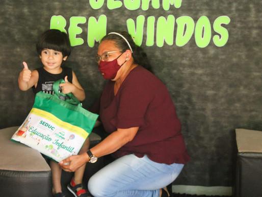 Seduc de Piripiri inicia distribuição dos kits de material escolar