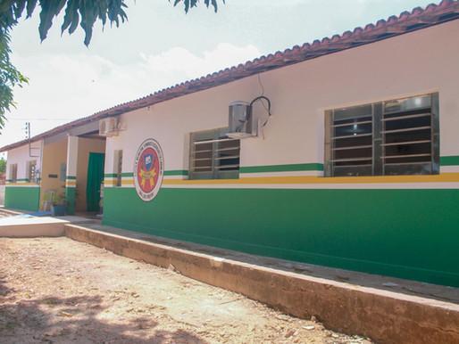 Prefeitura de Piripiri entrega reforma da escola  da Comunidade São Luís