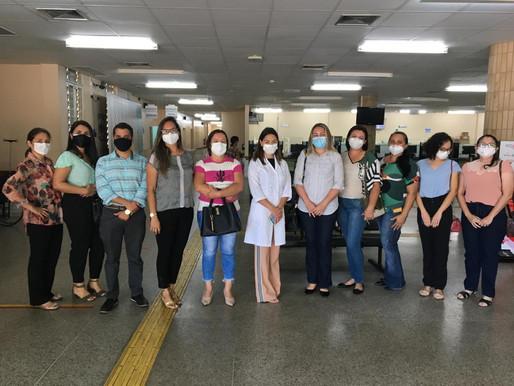 Equipe da Sesam de Piripiri participa de treinamento sobre acondicionamento da vacina Pfizer