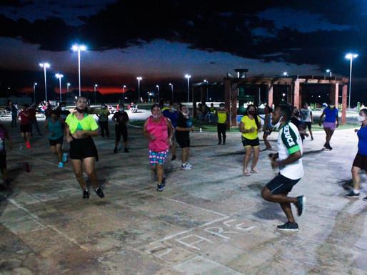 Projeto Movimente-se leva atividades diversas para a Praça Nelson Carneiro