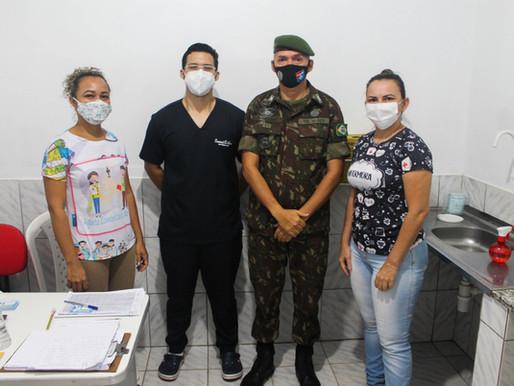 Atiradores do TG 10-021 são vacinados contra gripe H1N1