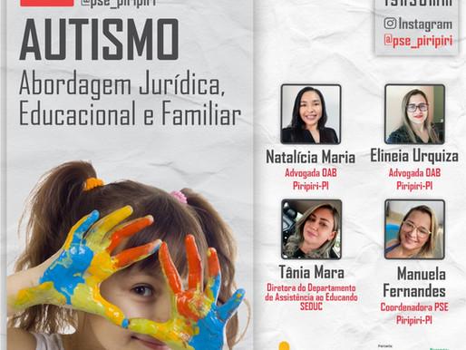 Secretaria de Educação promove live para discussão do Autismo