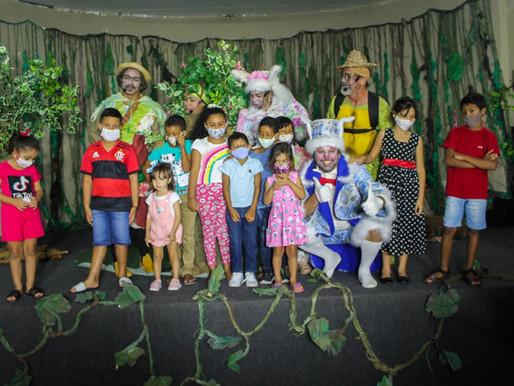 Sejuce apoia espetáculo teatral infantil
