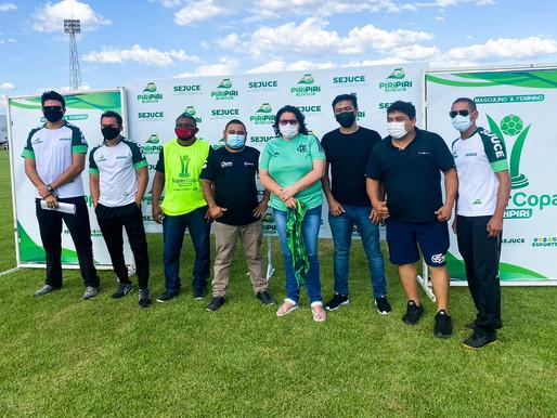 SEJUCE faz abertura oficial da Super Copa de Futebol Amador de Piripiri