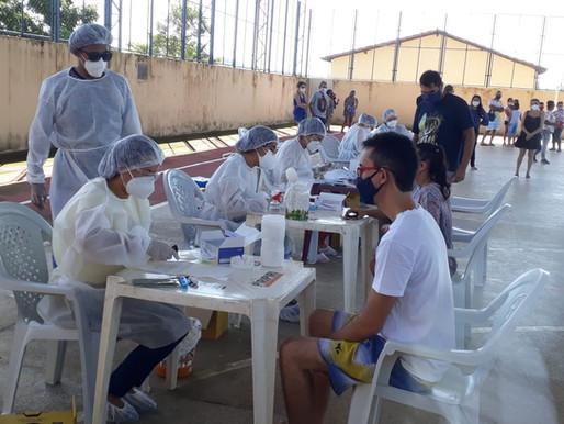 Piripiri faz testagem em massa em 250 pessoas para identificar o novo coronavírus