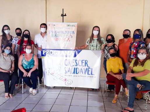 SESAM implanta projeto piloto Crescer Saudável em Centro Educativo de Piripiri
