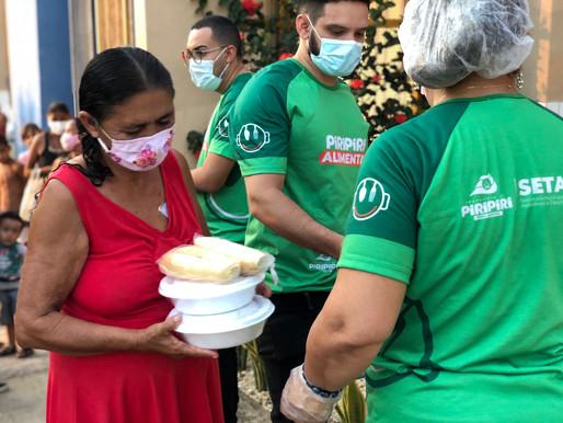 Piripiri Alimenta leva segurança alimentar às famílias mais vulneráveis