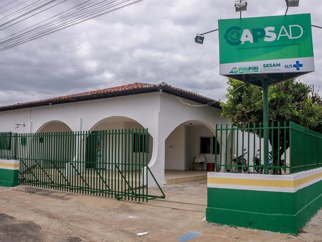 Prefeitura inaugura a nova sede do CAPs AD em Piripiri na sexta, dia 22