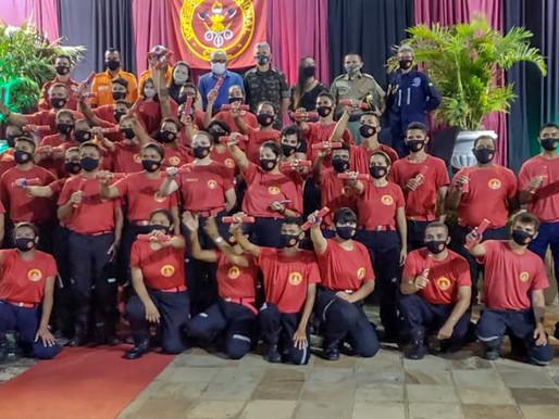 Autoridades prestigiam formatura de 50 Bombeiros Civis em Piripiri