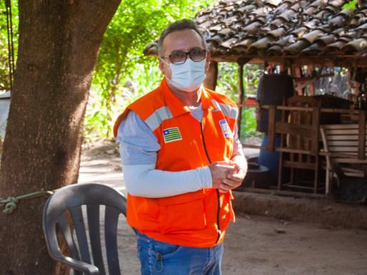 SEMAD faz treinamento no povoado Várzea sobre queimadas