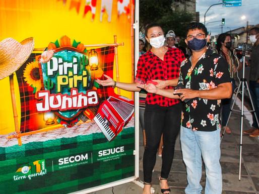 Atrações do Piripiri Junina movimentam praças da Bandeira e Nelson Carneiro com entrega de ingressos