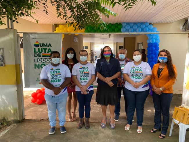 SETAS de Piripiri faz campanha de promoção o Dia Internacional contra a Homofobia