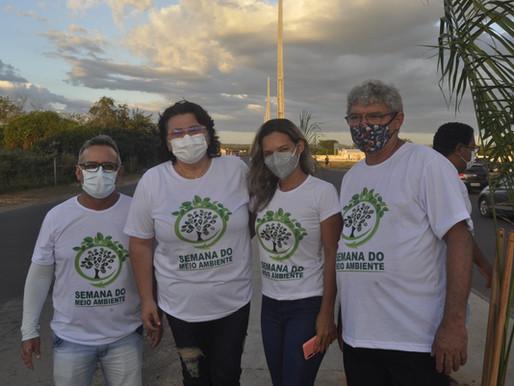 Plantio de árvores marca o Dia Mundial do Meio Ambiente em Piripiri