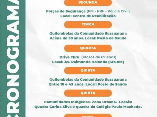 Regional de Piripiri recebe mais 2.700 doses de vacina contra Covid