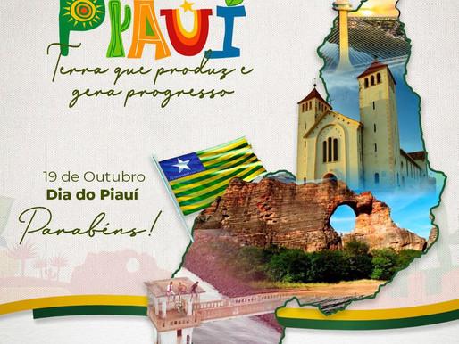 19 de Outubro | Dia do Piauí