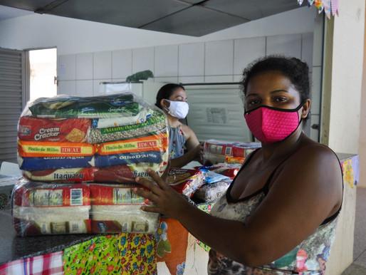 SEDUC começa a entrega de Cestas de Merenda escolar para quase 11 mil alunos em Piripiri