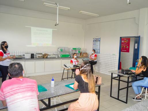 Saúde de Piripiri treina enfermeiros das UBSFs  para testagem rápida na atenção básica