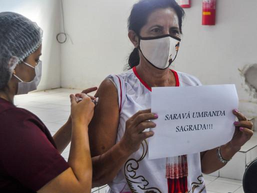 Secretaria de Saúde realiza terceira etapa de vacinação dos grupos prioritários em Piripiri