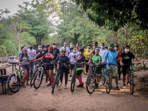 SEMAD realiza passeio ciclístico ecológico no Horto Florestal