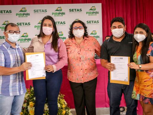 SETAS dá posse ao Conselho Municipal dos Direitos da Mulher de Piripiri
