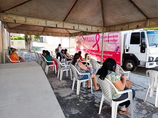 Secretaria de Saúde Municipal de Piripiri realiza campanha de Mamografia