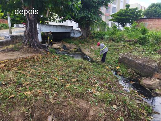 SEMAD faz nova desobstrução no Riacho Cabresto em Piripiri