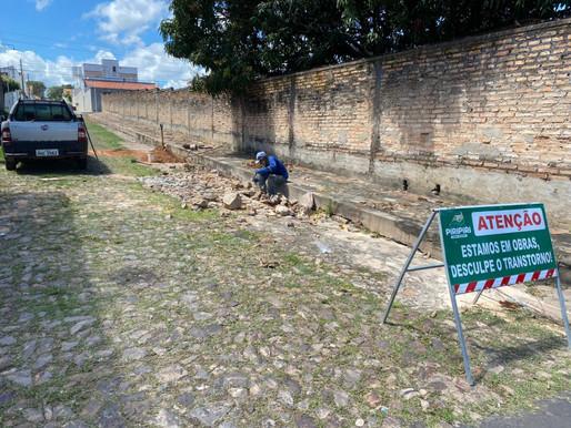 SEDESP segue com Operação Tapa Buraco pelas ruas de Piripiri