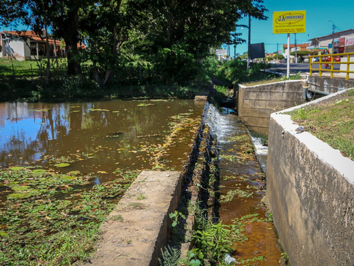 Semad conclui limpeza do Olho D'água do Recreio e da Ponte do Biano