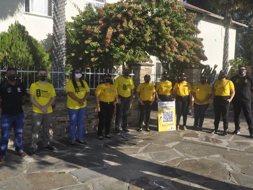 Escola de Trânsito do Piauí participa de blitz educativa dentro do Maio Amarelo em Piripiri