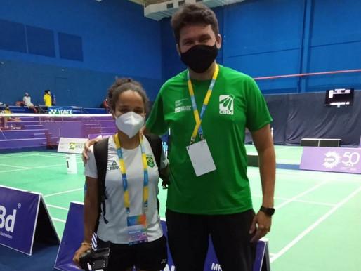 Professor de `Piripiri faz arbitragem em campeonato internacional de Badminton
