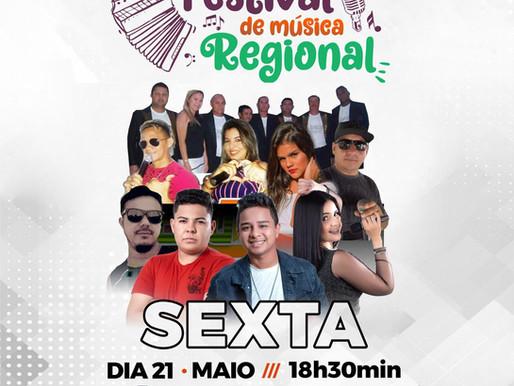 Sejuce promove nessa sexta-feira, terceira live do Festival de Música Regional