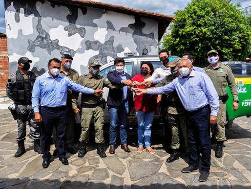 Piripiri recebe nova viatura para reforçar patrulhamento