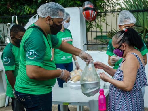 Piripiri Alimenta distribui mais de 19 mil refeições para famílias em situação de pobreza