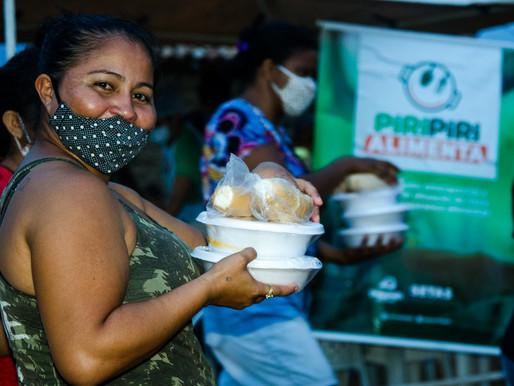 Piripiri Alimenta leva refeição para mais um bairro de Piripiri