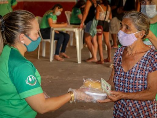 Programa Piripiri Alimenta faz nova distribuição no Bairro Prado